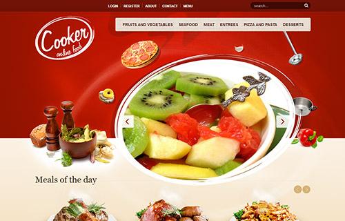 美食餐饮官网,披萨汉堡订购网站