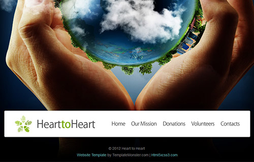 全屏背景图,环保机构环保公司网站模板
